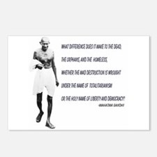 Postcards (Package of 8) - Ghandhi Quote