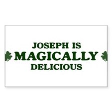Joseph is delicious Rectangle Decal