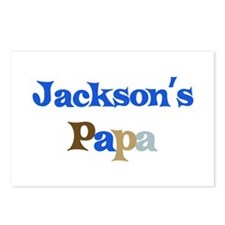 Jackson's Papa Postcards (Package of 8)