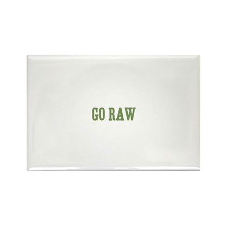 Go Raw Rectangle Magnet (100 pack)