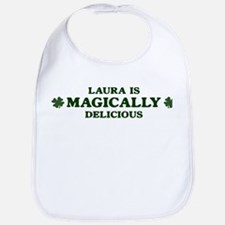 Laura is delicious Bib