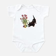 EASTER SCOTTIE Infant Bodysuit