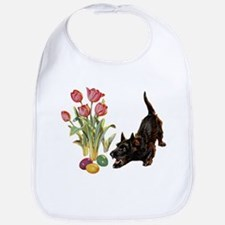 EASTER SCOTTIE Bib
