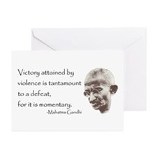 Greeting Cards (Pack of 6) - Victory attained by
