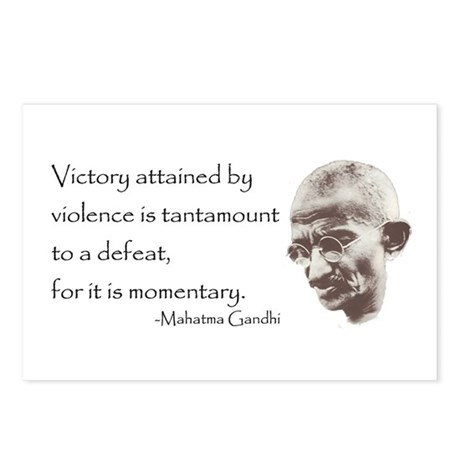Postcards (Package of 8) - Victory attained by