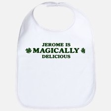 Jerome is delicious Bib