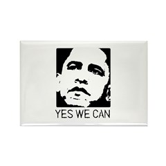 Yes we can / Obama Rectangle Magnet