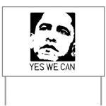 Yes we can / Obama Yard Sign