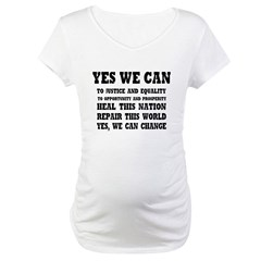 Yes we can / Barack Obama Shirt