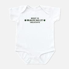 Missy is delicious Infant Bodysuit