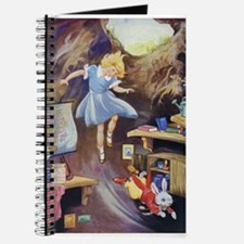 ALICE DOWN THE RABBIT HOLE Journal