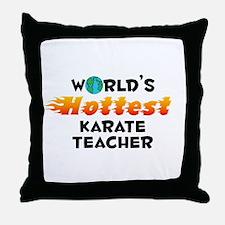 World's Hottest Karat.. (C) Throw Pillow
