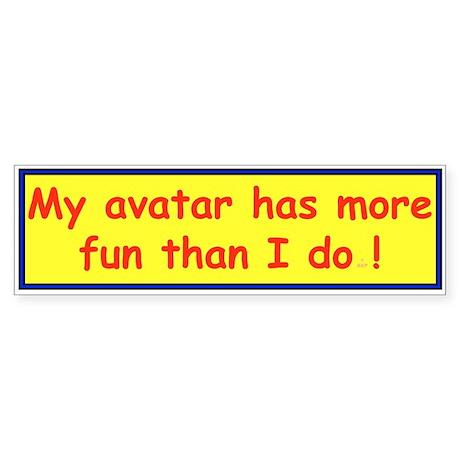 Avatar Bumper Sticker