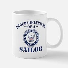 Proud Girlfriend Of A US Navy Sailor Mug
