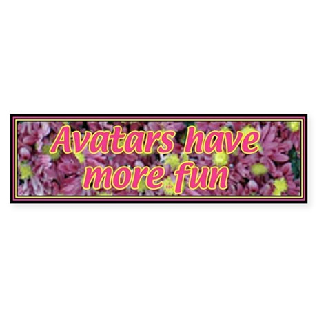 Avatar Bumper Sticker