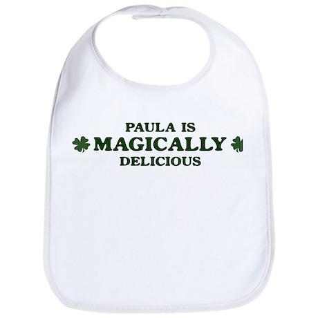 Paula is delicious Bib