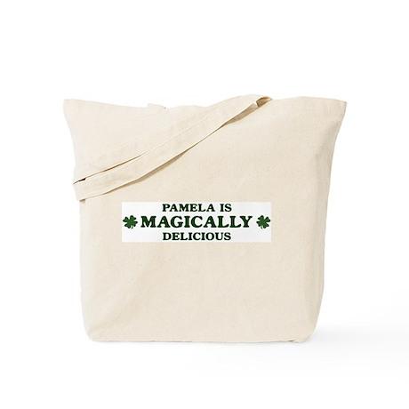 Pamela is delicious Tote Bag