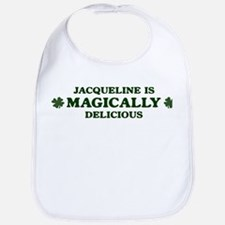 Jacqueline is delicious Bib