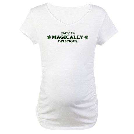 Jack is delicious Maternity T-Shirt