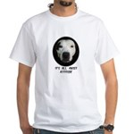 IT'S ALL ABOUT ATTITUDE White T-Shirt
