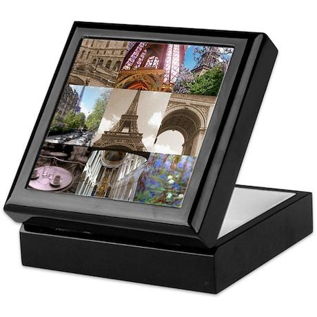 Paris views, Keepsake Box