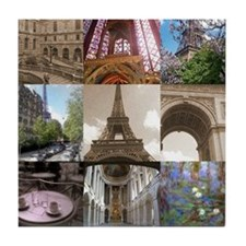 Paris Scenes Tile Coaster