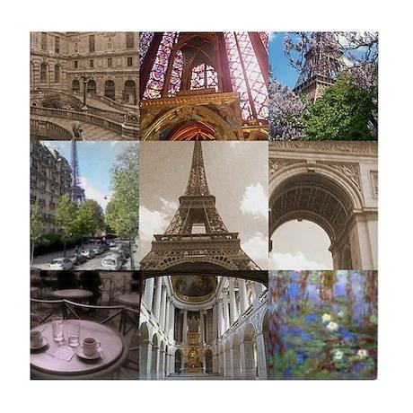 Paris Scenes Tile Coaster