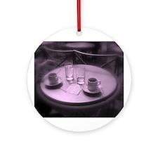 Paris Cafe Keepsake (Round)