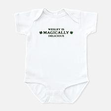 Wesley is delicious Infant Bodysuit