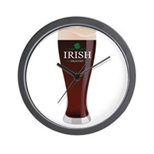 Irish Draught Wall Clock