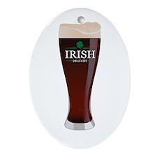 Irish Draught Oval Ornament