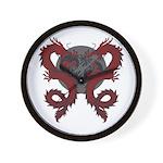 Double Dragon Wall Clock