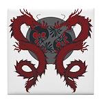 Double Dragon Tile Coaster