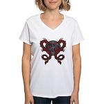 Double Dragon Women's V-Neck T-Shirt