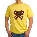 Double Dragon Yellow T-Shirt