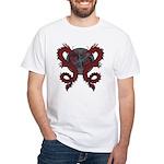 Double Dragon White T-Shirt