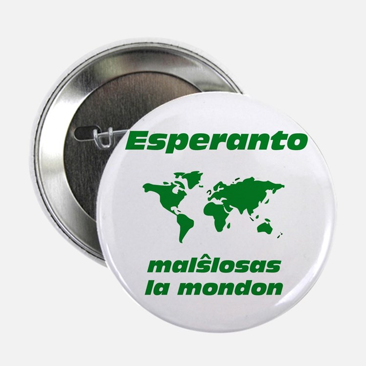 "Esperanto Opens the World 2.25"" Button"