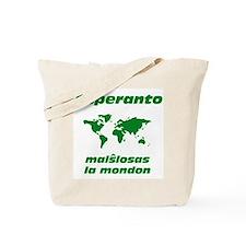 Esperanto Opens the World Tote Bag
