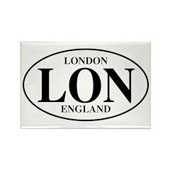 United Kingdom - Ireland Rectangle Magnet