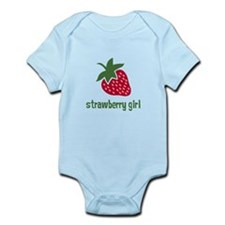 Strawberry Girl Infant Bodysuit