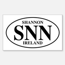 Shannon, Ireland Rectangle Decal