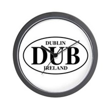 Dublin, Ireland Wall Clock