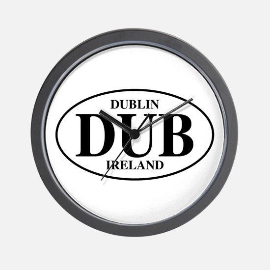 Dublin, Ireland Wall Clock