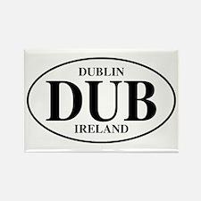Dublin, Ireland Rectangle Magnet