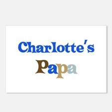 Charlotte's Papa Postcards (Package of 8)