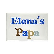 Elena's Papa Rectangle Magnet (10 pack)