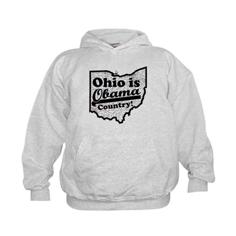 Ohio Is Obama Country Kids Hoodie