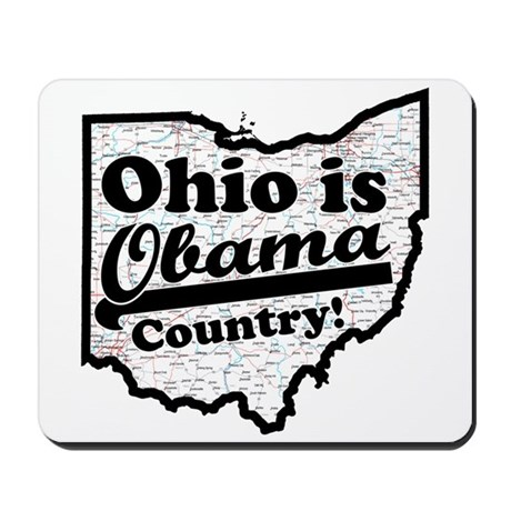 Ohio Is Obama Country Mousepad