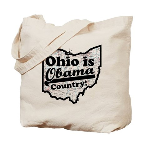 Ohio Is Obama Country Tote Bag
