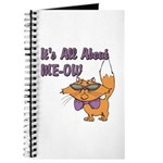 It's All About Me Cat Journal